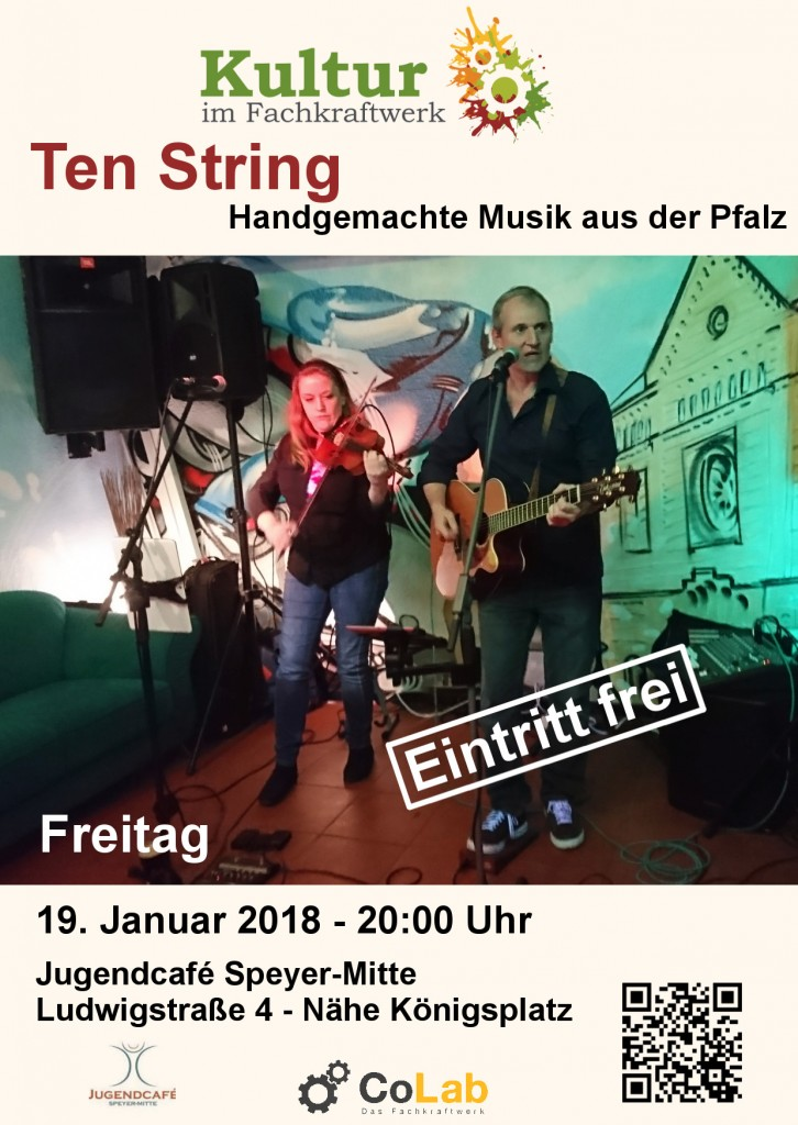 Flyer Konzert Ten String