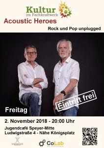 Flyer Acoustic Heroes